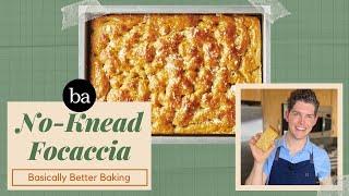 Testing Sarah Jampel's No-Knead Focaccia   Basically Better Baking   Bon Appetit Review #64