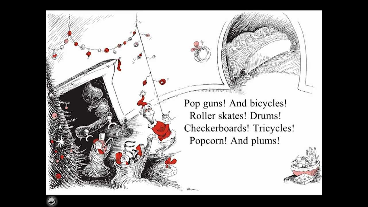 How The Grinch Stole Christmas | Book Apps - YouTube