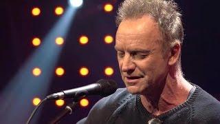 Message in a Bottle - Sting en acoustique dans le Grand Studio RTL Video