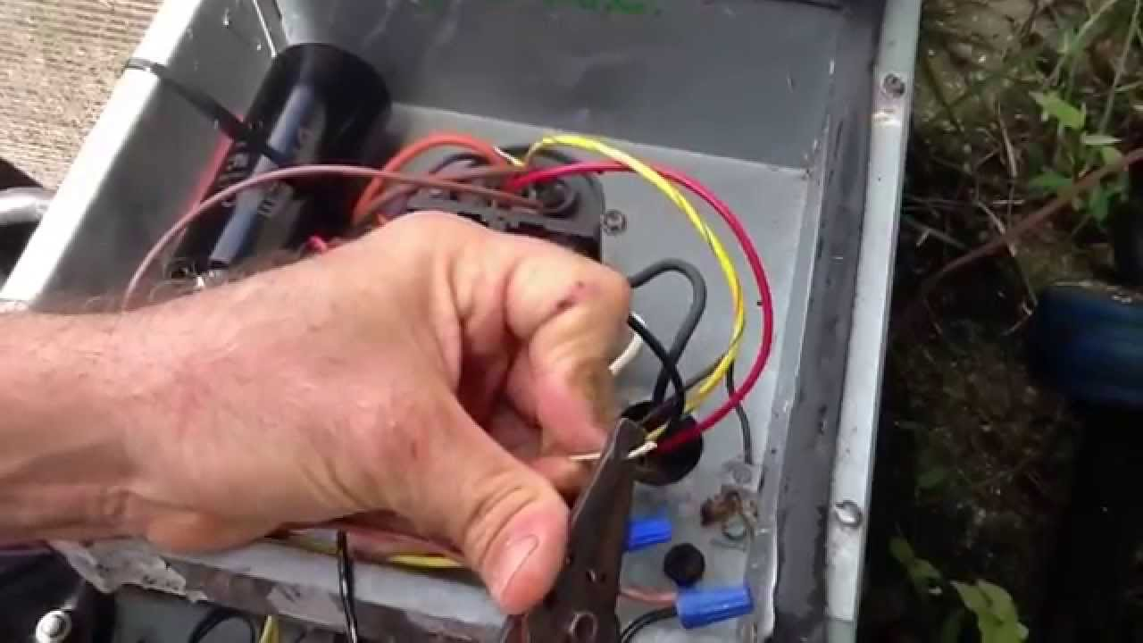 hight resolution of time delay on break for compressor