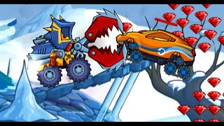 Car Eats Car: Winter Adventure Full Gameplay Walkthrough