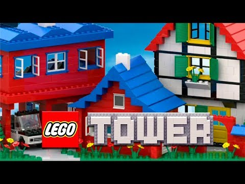 LEGO Tower - BUILD YOUR LEGO WORLD - iOS Android Gameplay