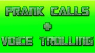 GingerBeats-Prank Calls-Girl,Radio,Black Guy Voice Trolling