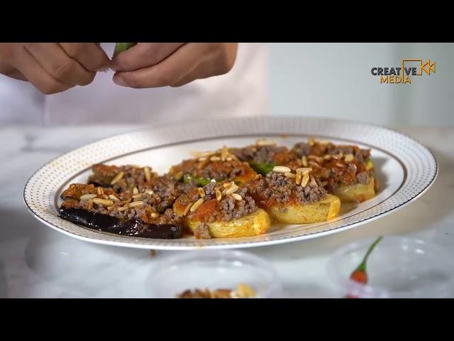 Saudi Chef    المسقعة   شوربة الشوفان مع صدور الدجاج   البوريك 720p