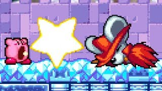 Kirby: Squeak Squad - Level 6 Ice Island - No Damage 100 % Walkthrough