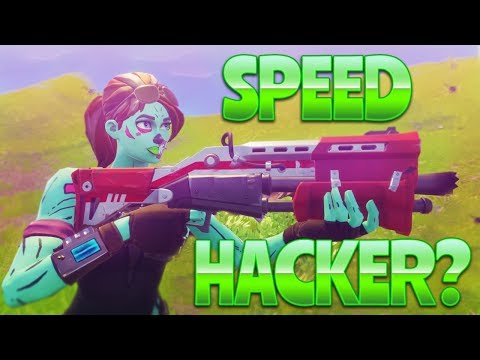 SPEED HACKER?  (Fortnite Battle Royale)
