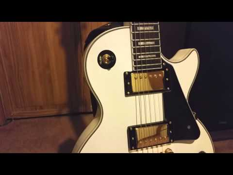 Review Of Epiphone Les Paul Custom Pro (White)