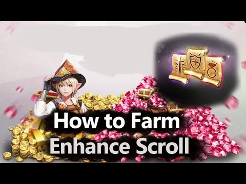 Lineage 2 Revolution How to Farm Enhance Scroll