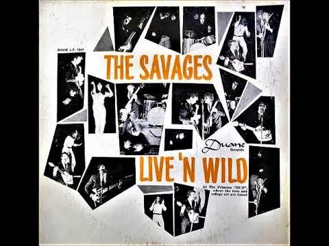 The Savages - Live 'n wild (1966) (BERMUDA, Beat, Garage Rock)