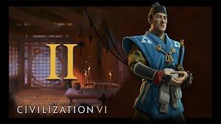 Прохождение Civilization 6 #2 - Правительство и социальные институты [Япония - Император]