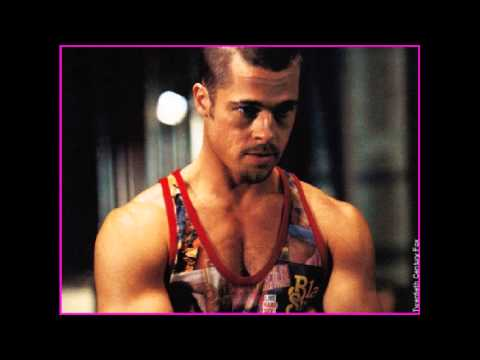Brad Pitt Body Transformation : Fight Club And Troy - YouTube