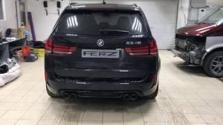 видео тюнинг выхлопа BMW