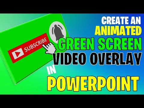 Create An Animated Green Screen Video Overlay In PowerPoint