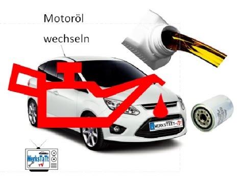 Ford C Max Focus Ölwechsel Oil Change