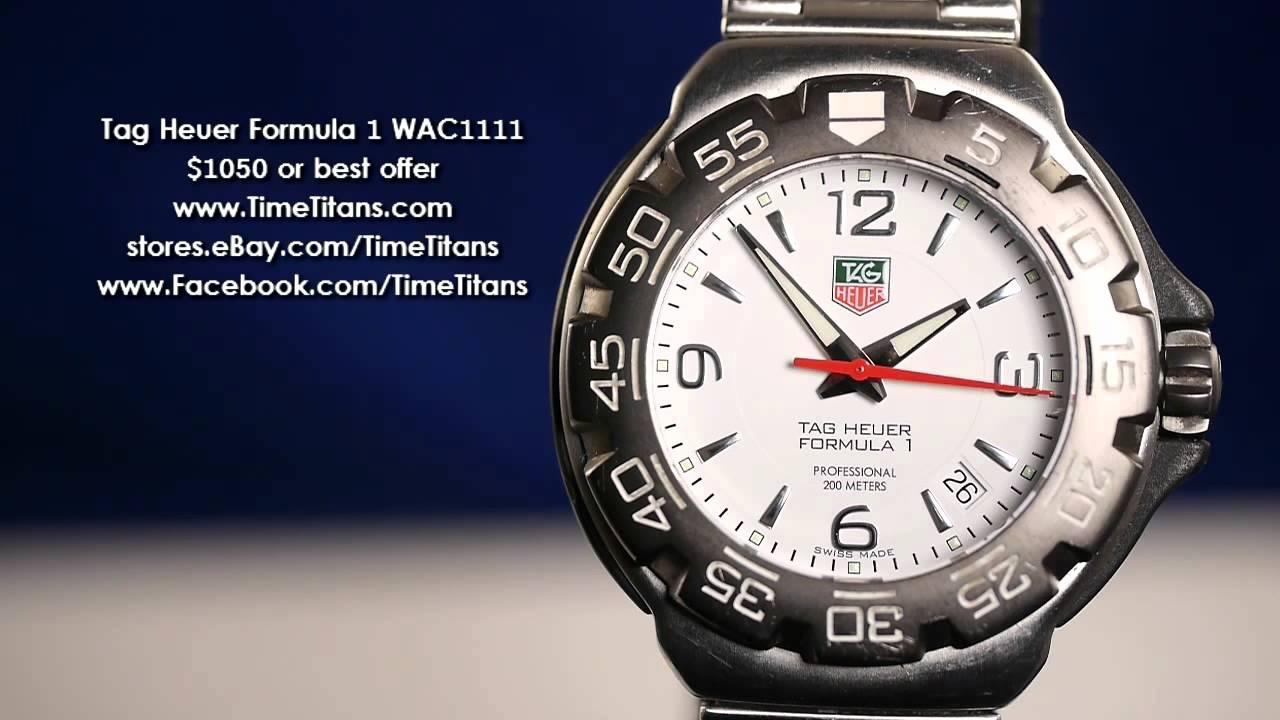 Tag Heuer Formula 1 WAC1111