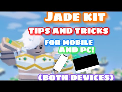 Jade Kit TIPS AND TRICKS FOR BOTH MOBILE AND PC! (Roblox BedWars)
