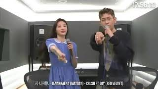 "Download lagu Crush feat Red velvet JOY "" MAYDAY"" Live version"