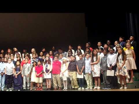 "Golden Terrace Elementary School Fifth Grade Graduation 2019 ""The future's calling us"""