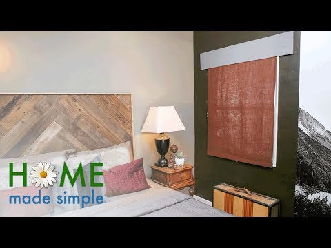 Update Your Blinds With This No-Sew Project | Home Made Simple | Oprah Winfrey Network