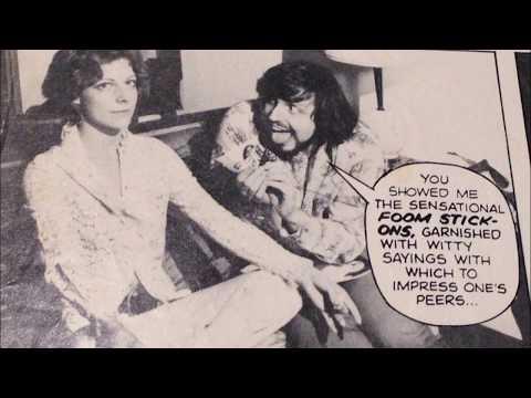 COMIC BOOK PRODUCTIONS: MARVEL FOOMETTI FOOM CRAZY COMIC MAGAZINE AD 1973