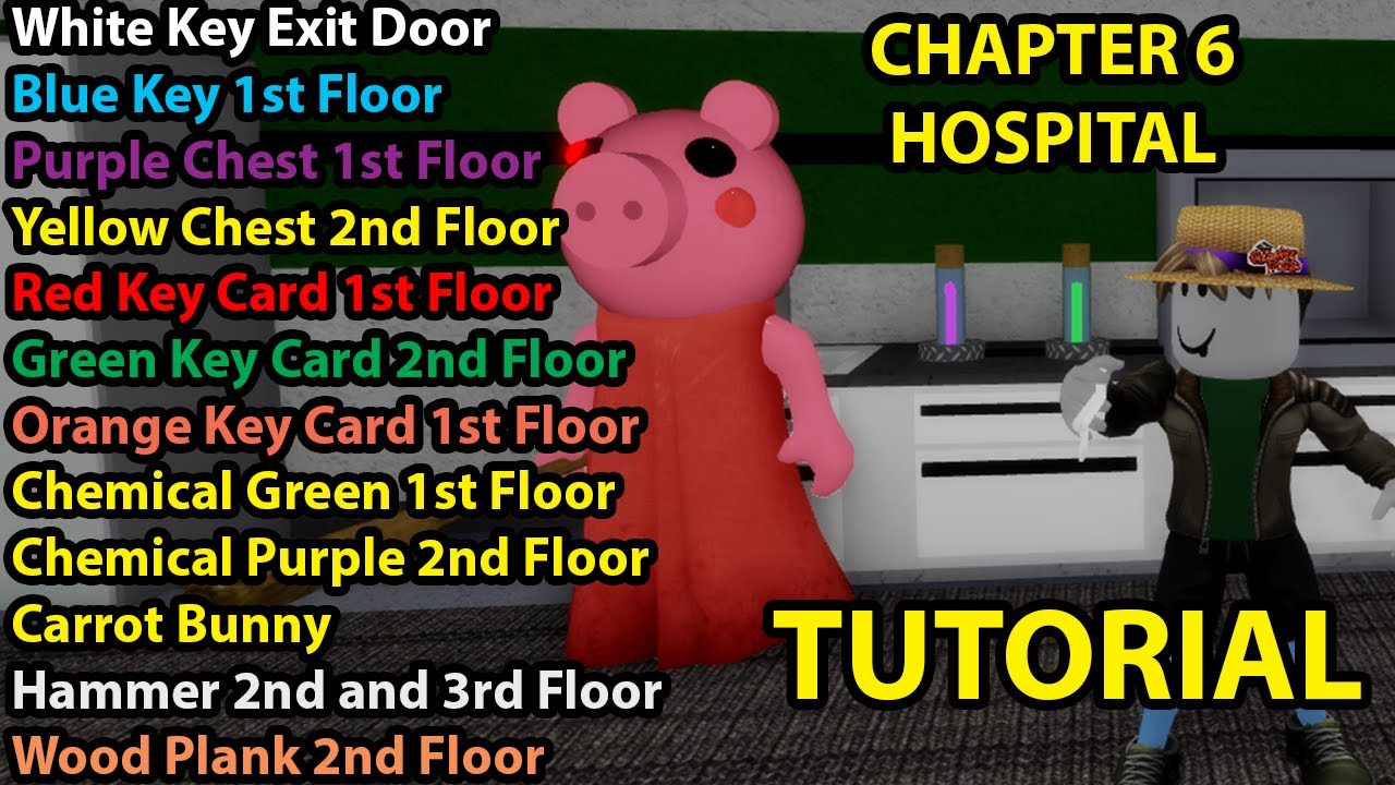 Roblox Piggy New Chapter 6 Hospital Tutorial Ending With 100