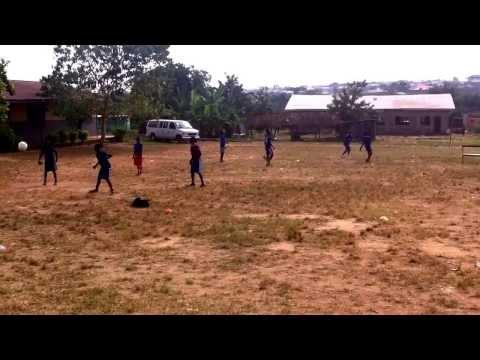 Nigeria Rush before training Joga
