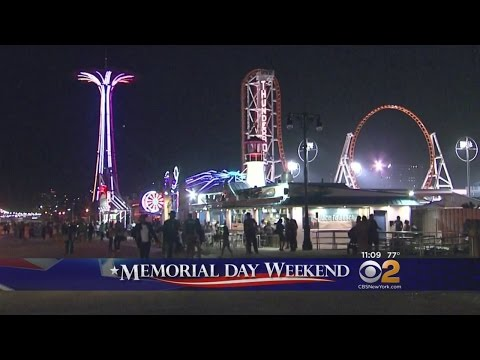 Summery Coney Island Festivity