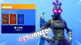 RAVAGE SKIN RETURNS (New Item Shop) Fortnite Battle Royale