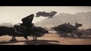 Star Citizen 3.0 ah - Player Rescue - Vanguard testing - SLOW - 4K Ultrawide