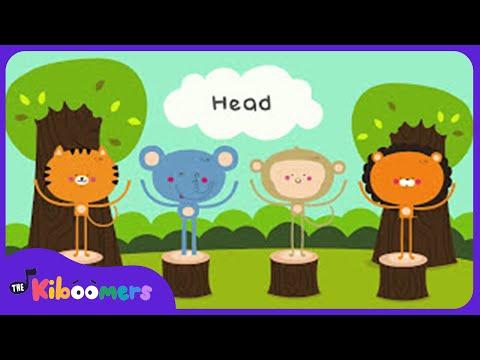 Head and Shoulders | Preschool Songs | Action Songs | The Kiboomers