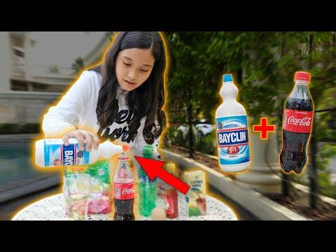Bayclin + Coca Cola Auto Kaget
