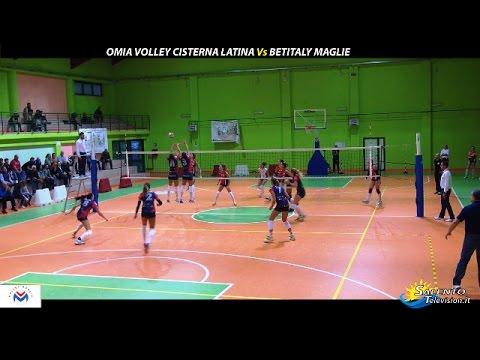 Omia Volley Cisterna Latina Vs Betitaly Maglie 3-0