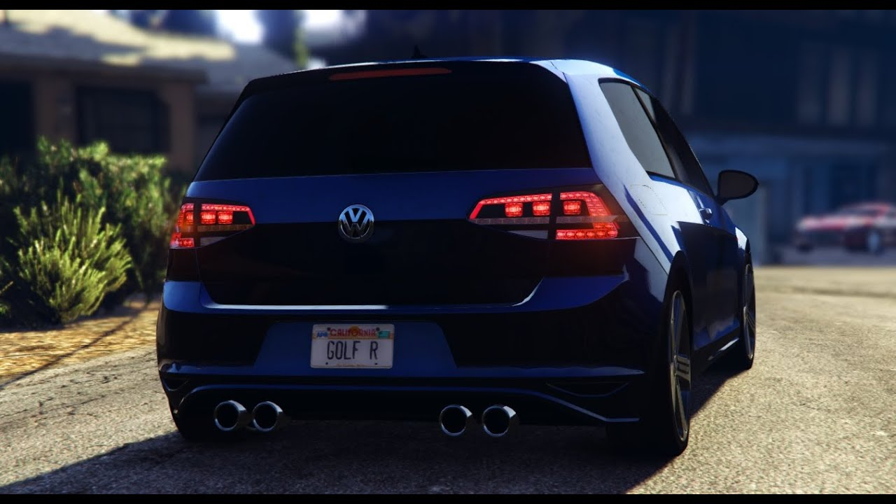 gta 5 volkswagen golf r mk7 2015 youtube. Black Bedroom Furniture Sets. Home Design Ideas