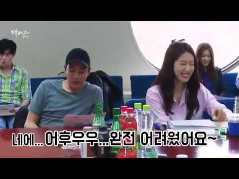 Kim Rae Won and Park Shin Hye at 1st script readin