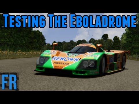 Assetto Corsa Mods - Testing The Eboladrome