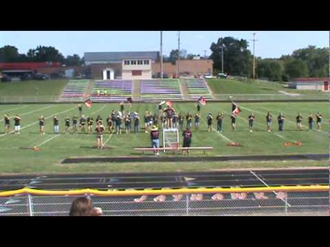 vandercook lake marching band part 1 and 2