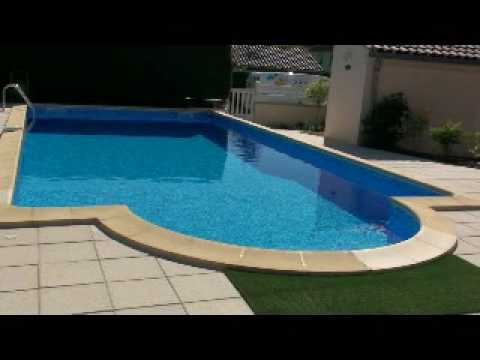Construction piscine pose liner solidpool doovi for Pose liner arme piscine