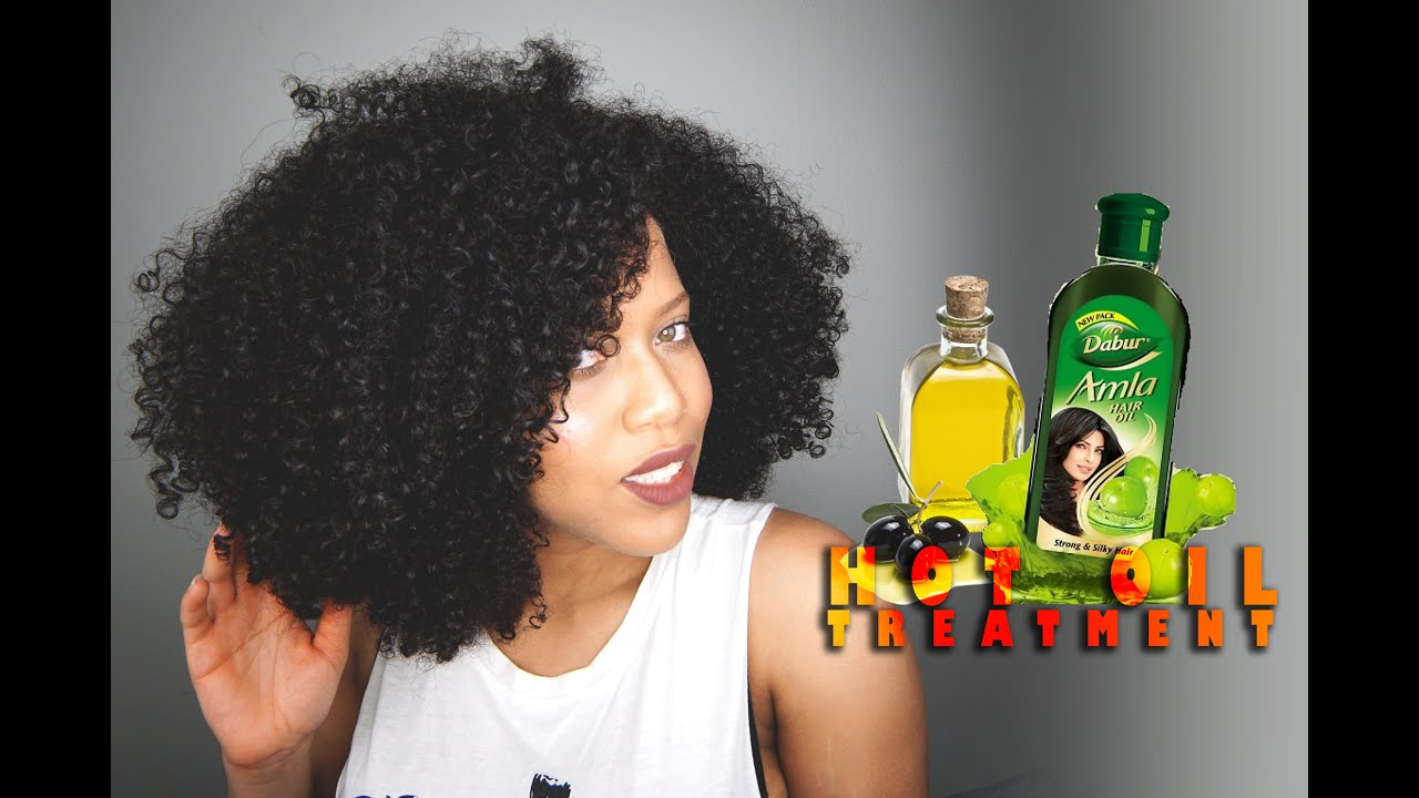 hot oil treatment frizzy