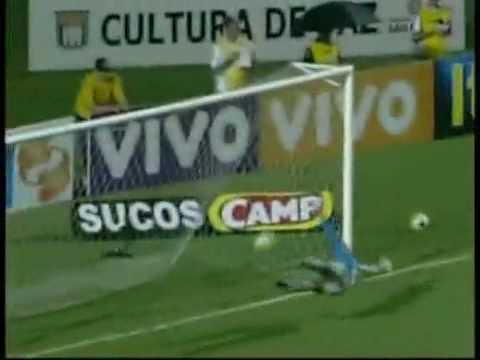 Estreia de Roberto Carlos - Timão 2 x 1 Bragantino - Gols