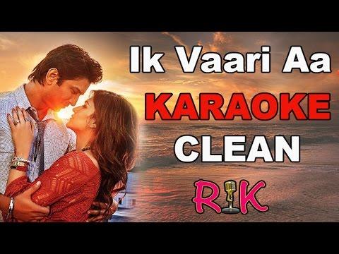 Ik Vaari Aa   Karaoke   Raabta   Arijit Singh