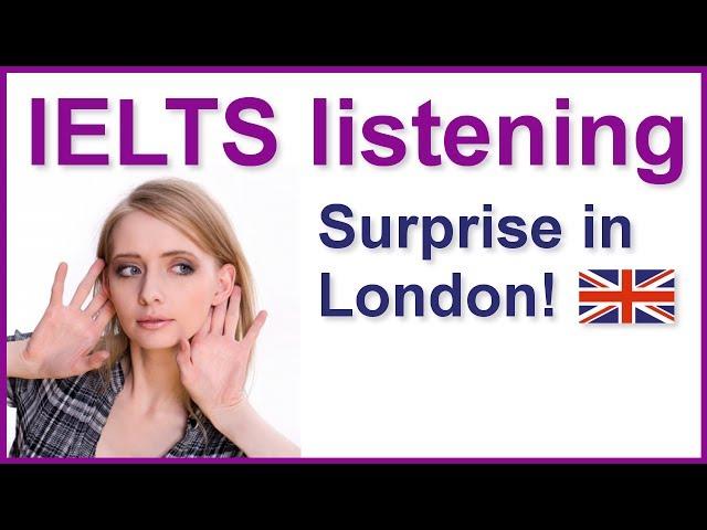 IELTS listening practice | English listening test