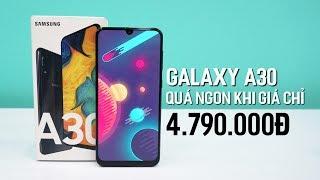 Galaxy A30 - Hơn 4 Triệu Cấu Hình Cao , Pin Trâu , Camera Đẹp , Chống Nước IP68 - Giá Rẻ Nhất VN!