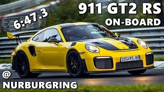 Porsche 911 GT2 RS Nurburgring Lap //FULL// On-board
