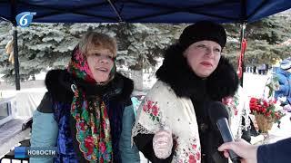 В воскресенье на площади Победы прошли Масленичные гуляния
