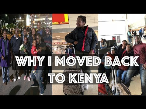 Moving from the USA to Kenya (It's in Africa and not next to Nigeria.) | Why I left the US.