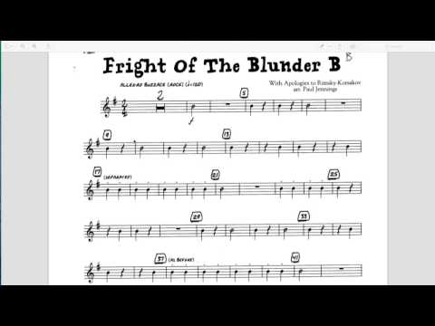 Recorder: (B) Fright of the Blunder B
