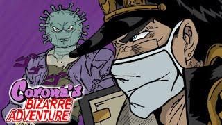 Jotaro Fights Coronavirus (JJBA Parody Animation)