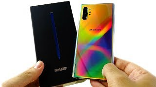 Galaxy Note 10 Plus Unboxing!