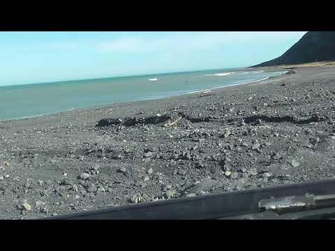 Ocean Beach main driving track - April 2017