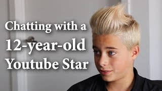 Chatting with a 12-year-old Youtube Star ft. Gavin Magnus